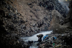 'The Mine' is the largest garbage dump in Guatemala City