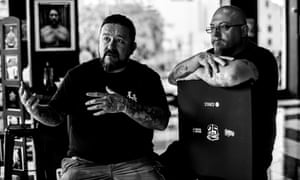 Mister Cartoon and Estevan Oriol in LA Orginals. 'When I found out he was a lowrider too, we instantly connected,' says Cartoon.