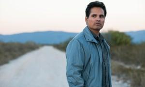 Michael Peña as Kiki Camarena in Narcos: Mexico