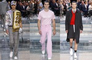 Versace menswear SS17.
