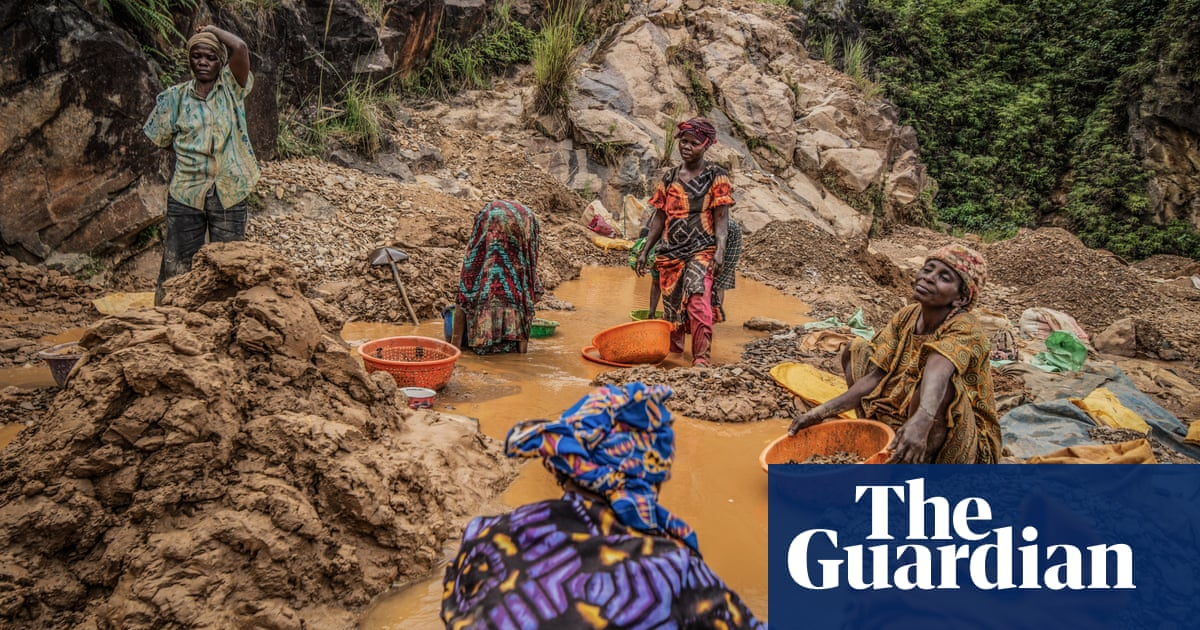 Price of gold: DRC's rich soil bears few riches for its miners – photo essay - the guardian