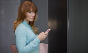 Bryce Dallas Howard in Nosedive, about the dark side of social media.