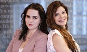 Irene Ryabaya (left) and Diana Murakhovskaya.