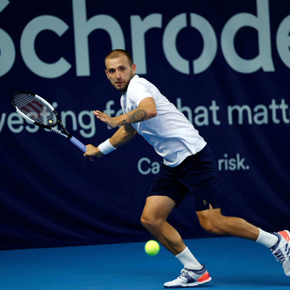 Dan Evans bounces back against Andy Murray to reach Battle of the Brits  final | Tennis
