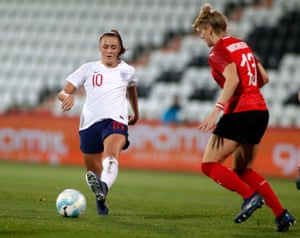 Georgia Stanway has impressed in midfield for England.