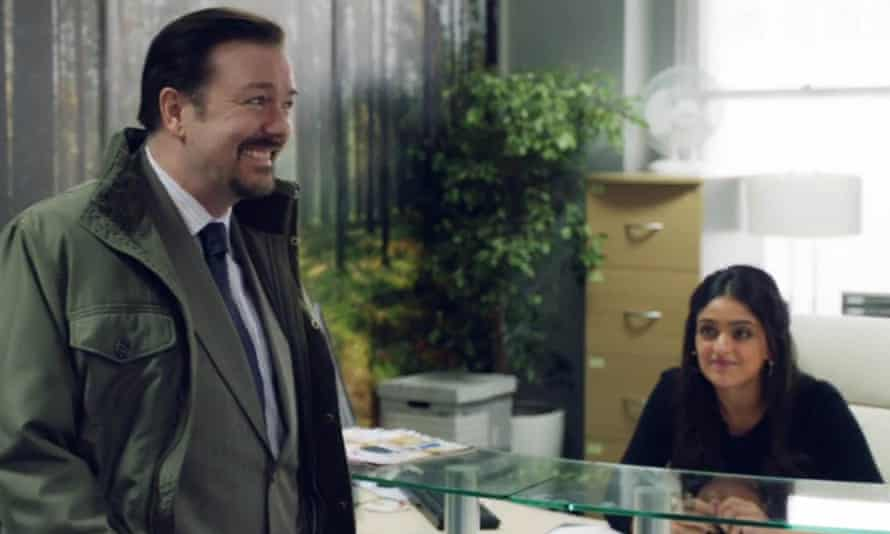 Ricky Gervais as David Brent.