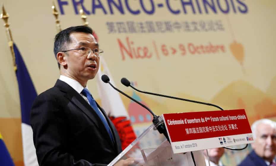 The Chinese ambassador to France, Lu Shaye