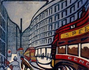 Speed, 1922 by Claude Flight.