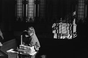 Boy and Cross, Boston, 1977
