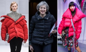 There's a padded jacket for all of us.