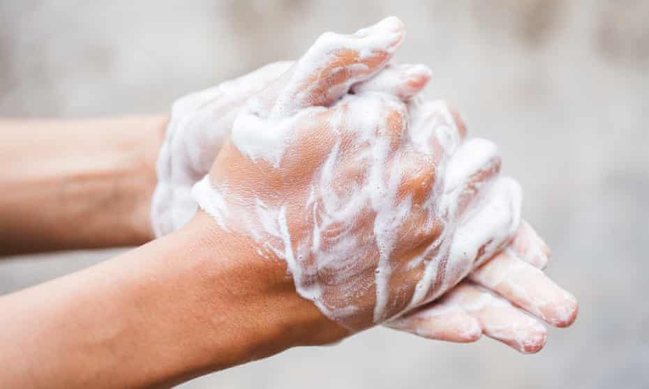 'I've seen a lot of people who've had really bad dermatitis because of this obsession with hand hygiene.'
