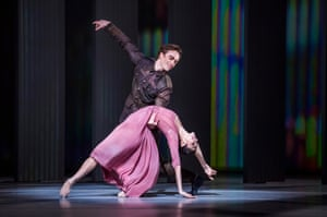 Matthew Ball and Yasmine Naghdi in The Unknown Soldier from The Triple Bill.