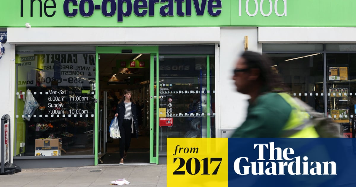 Co-op boss shrugs off £130m loss to focus on group's