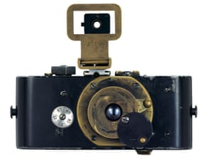The original or Ur-Leica is considered as revolutionary a technological development as the advent of the mobile phone. Compact and lightweight – a mere 400g – and using 35mm cinematic film, , it was small enough to fit into a coat pocket, and rapidly became essential not only to professional photographers but also amateurs, thereby bringing photography into everyday life.