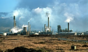 Stanlow oil refinery in Ellesmere Port, Cheshire