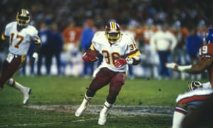 Timmy Smith against the Broncos in Super Bowl XXII: 'I was just blessed, let's put it that way. I just was in the right place at the right time.'