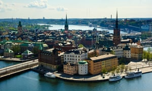 A view over Stockholm