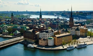 View over Stockholm.