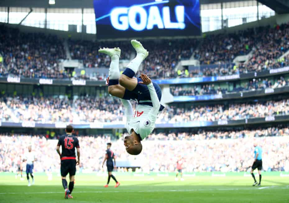 Lucas Moura and Tottenham will hope to be celebrating come May
