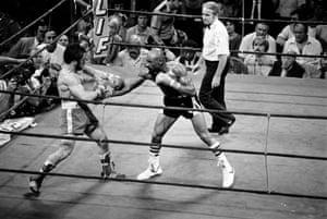 Marvin Hagler and Vito Antuofermo