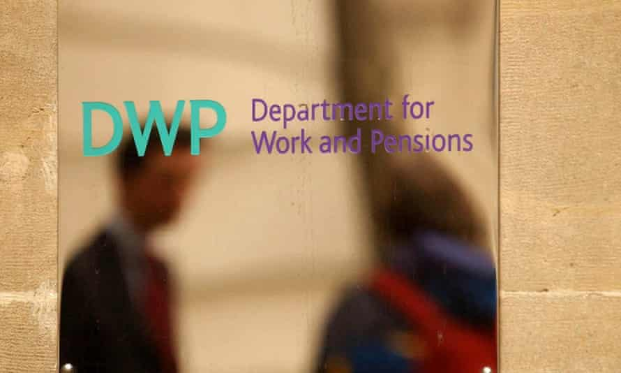 DWP logo on building