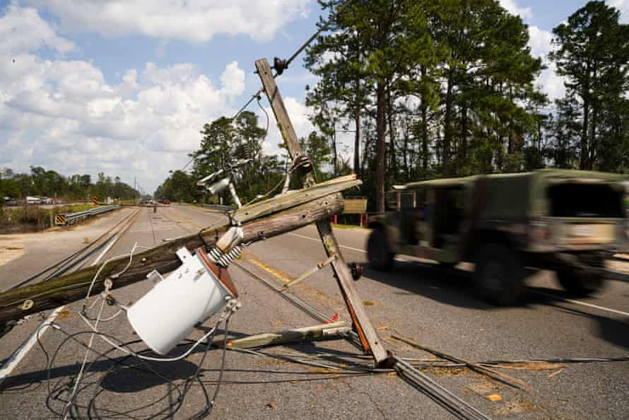 Hundreds of thousands of people outside New Orleans were still without power 10 days after Hurricane Ida.