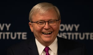 Turnbull Nuttiness To Blame For Bad Relationship With China Kevin Rudd Says Australia News The Guardian