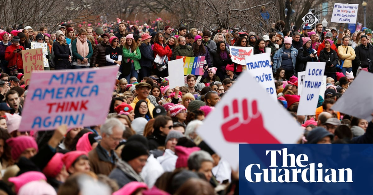 Women s March on Washington overshadows Trump s first full day in office  07d531d66