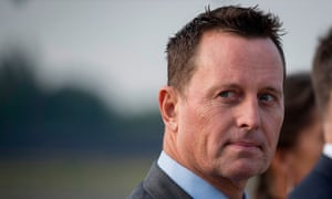 Richard Grenell, the US ambassador to Germany, will be appointed acting director of national intelligence, according to reports.
