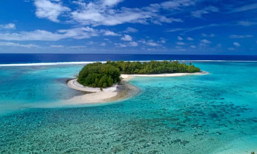 Koromiri Island, Muri Lagoon, Rarotonga, Cook Islands, South Pacific