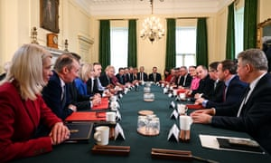 Boris Johnson holds his first Cabinet meeting since his cabinet reshuffle in February.