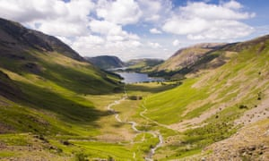 Buttermere valley in the Lake District
