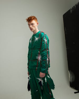 Top and trousers by Craig Green. Similar pieces available at Matchesfashion.com