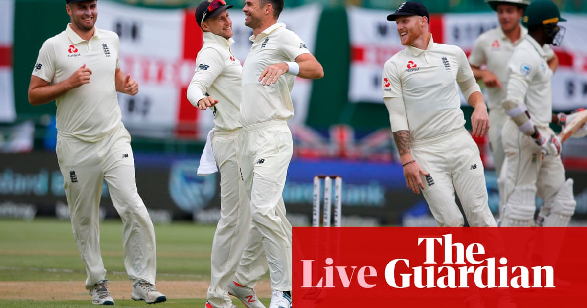 South Africa v England: second Test, day three –live!