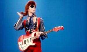 David Bowie, 1975.