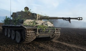 The Tiger Tank in FURY.