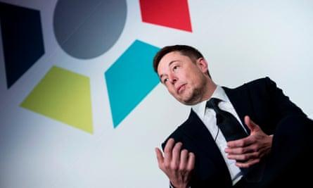 Elon Musk's Tesla said its net loss reached $4.19 per share.