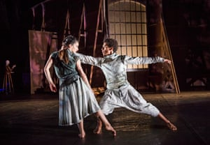 'Tensile and steely': Nancy Nerantzi and Liam Francis in Rambert's Life Is a Dream at Sadler's Wells, London
