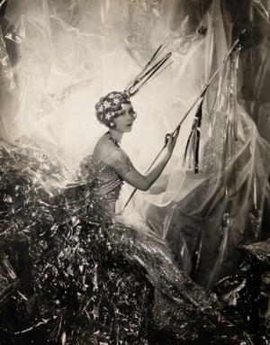 Nancy Beaton as a Shooting Star for the Galaxy Ball, 1929