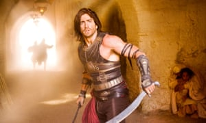 Jake Gyllenhaal realised he might not be an action hero after all in Prince of Persia: Sands of Time.