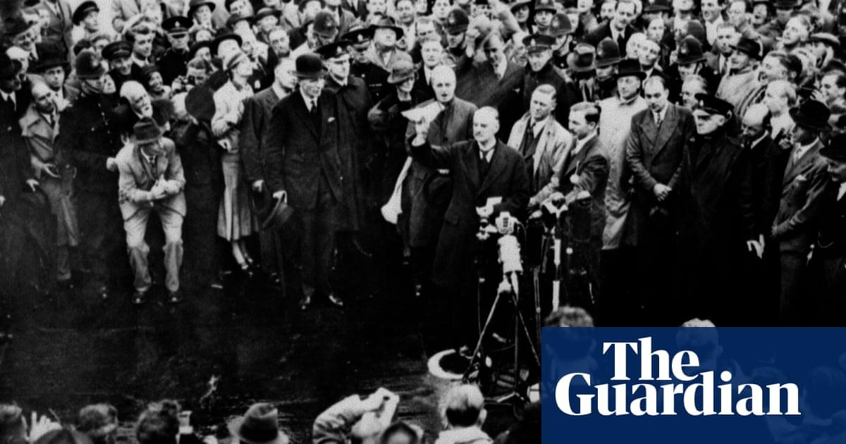 An Anglo German Pledge World News The Guardian