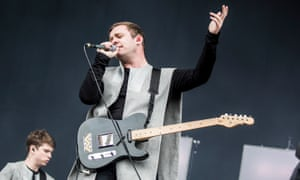 Jonathan Higgs of Manchester band Everything Everything, who will perform at Bluedot.