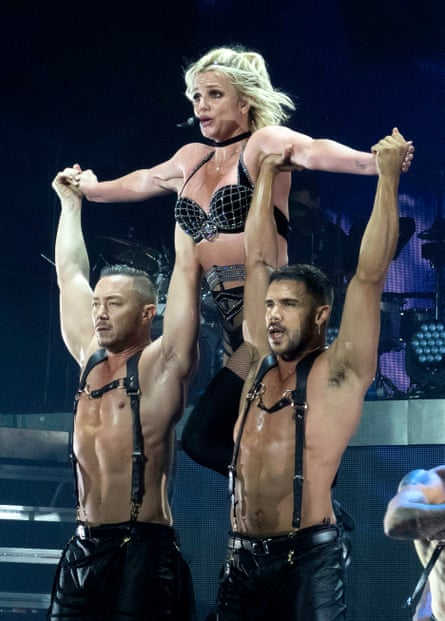 Propped up by her gay fan base? Britney Spears.