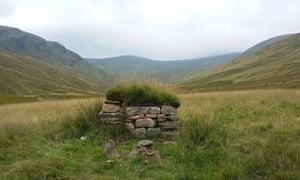 the stone hut of Tigh nam Bodach