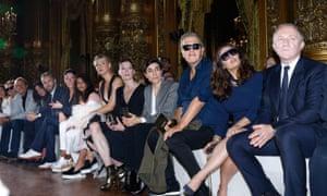 Fashionista: at Stella McCartney, spring/summer 2016, Paris fashion week.