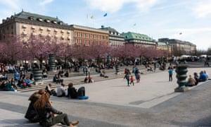 Kungsträdgården Park Stockholm