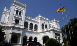 The prime minister's office in Colombo, Sri Lanka.
