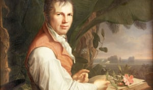 'Faded from collective memory' … detail from Friedrich Georg Weitsch's portrait of Alexander von Humboldt, c 1806