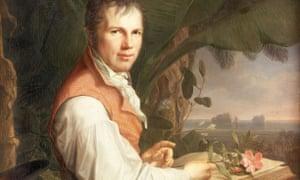 A portrait of Alexander von Humboldt by Friedrich Georg Weitsch, c1806.