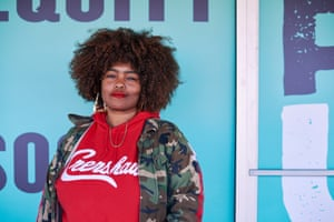 Kika Keith, a leading activist for social equity applicants, has been trying to open her own cannabis business in south Los Angeles for over a year.